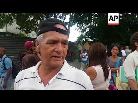 Power outage in Venezuela's capital blamed on line break