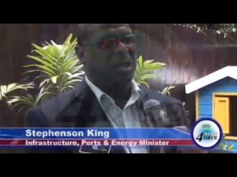 King Discusses Hewanorra International Airport Redevelopment Plans Stlucia