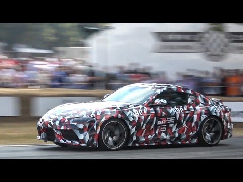 2019 Toyota Supra: Exterior and Interior Overview and Hill Climb! FoS 2018.
