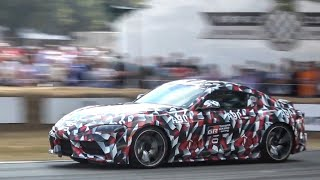 NEW 2019 Toyota Supra: Exterior and Interior Overview and Hill Climb! FoS 2018.