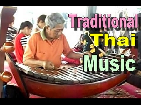TRADITIONAL THAI MUSICAL INSTRUMENTS - Thailand Music Concert [HD]