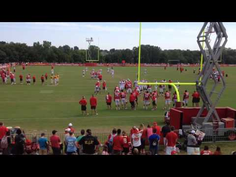 Chiefs OL/DL pass-rush drills for July 30