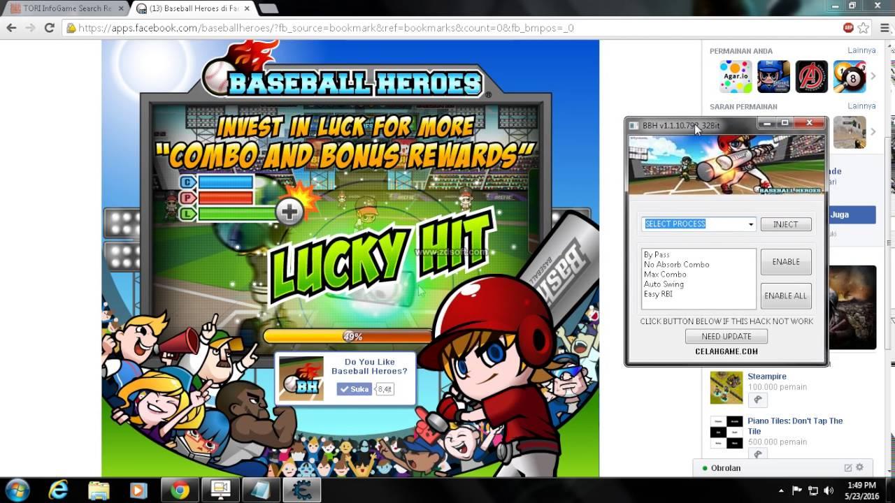 combomax baseball heroes