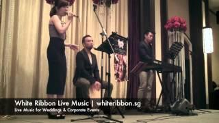 "White Ribbon Live Music - Ruth Miaoru singing ""夜来香"" Shanghai Jazz - Singapore Live Band"