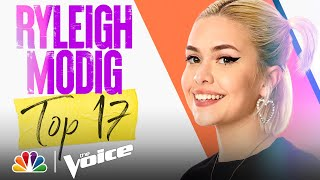 """Download Ryleigh Modig Sings Olivia Rodrigo's """"drivers license"""" - The Voice Live Top 17 Performances 2021"""