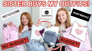 THE ONLINE SHOPPING CHALLENGE *Sisters Buy Each Other Outfits! Lockdown Loungewear | Ruby and Raylee