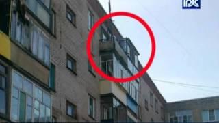 В Шексне полуторагодовалый малыш выпал из окна 5 этажа