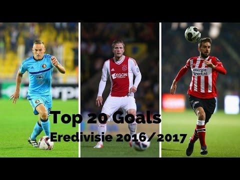 Top 20 goals ● eredivisie ● 2016 2017