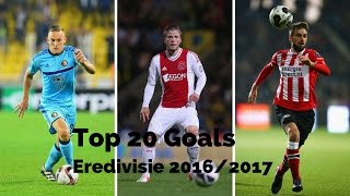 Top 20 goals ● eredivisie ● 2016 2017