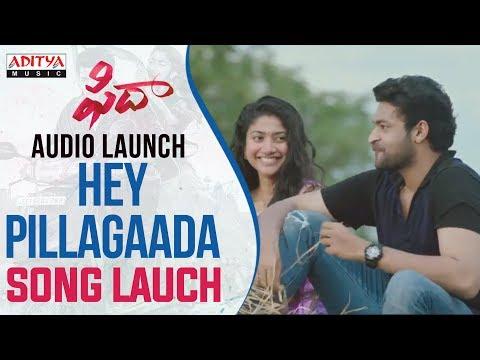 Hey Pillagaada Song Launch At Fidaa Audio Launch Live || Varun Tej, Sai Pallavi || Sekhar Kammula