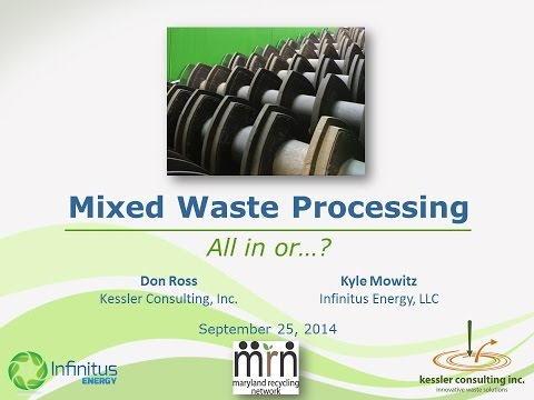 Mixed Waste Processing MRN 2014 09 25