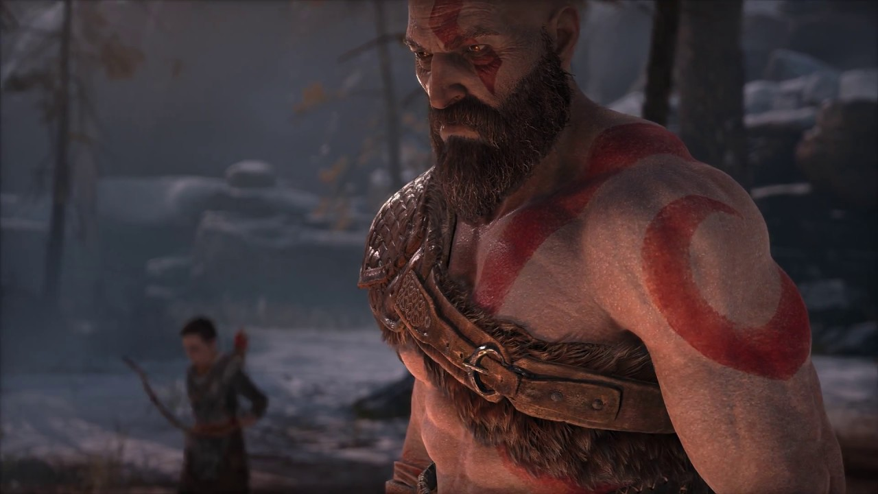 Real 4K HDR: God of War Intro in HDR