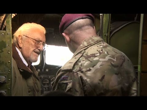 Bernard Cribbins Relives Days As Paratrooper