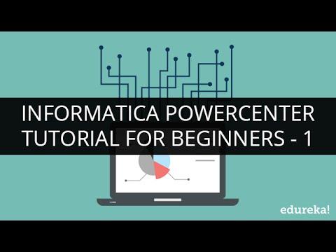 Informatica Tutorial For Beginners Part 1 | Informatica PowerCenter Training | Informatica | Edureka