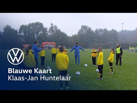 Klaas-Jan Huntelaar clinic voor de Blauwe Kaart