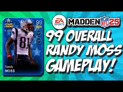 Madden 25 Ultimate Team - RANDY MOSS 99 OVERALL Gameplay! - 102 Speed - MUT 25