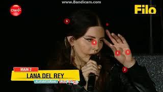LANA DEL REY LOLLAPALOOZA ARG 2018 (playback)