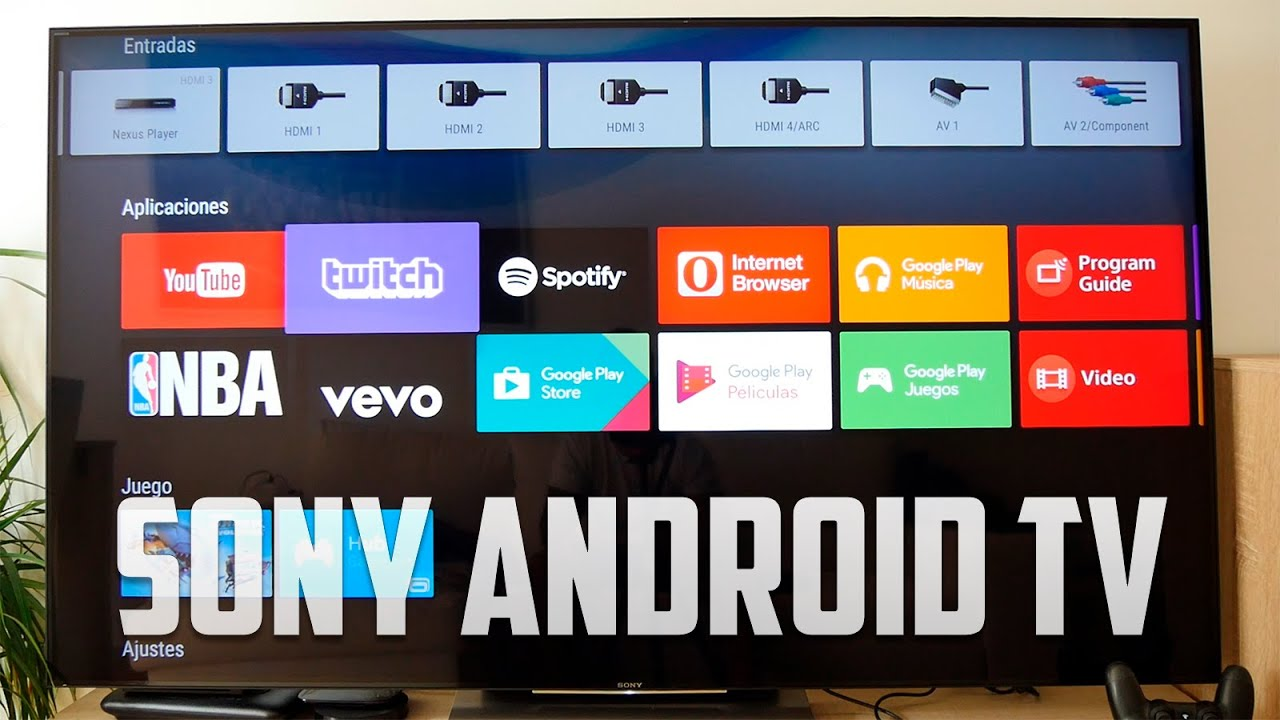 tv sony 4k con android tv review en espa ol youtube rh youtube com manual sony bravia 46 en español manual de sony bravia en español