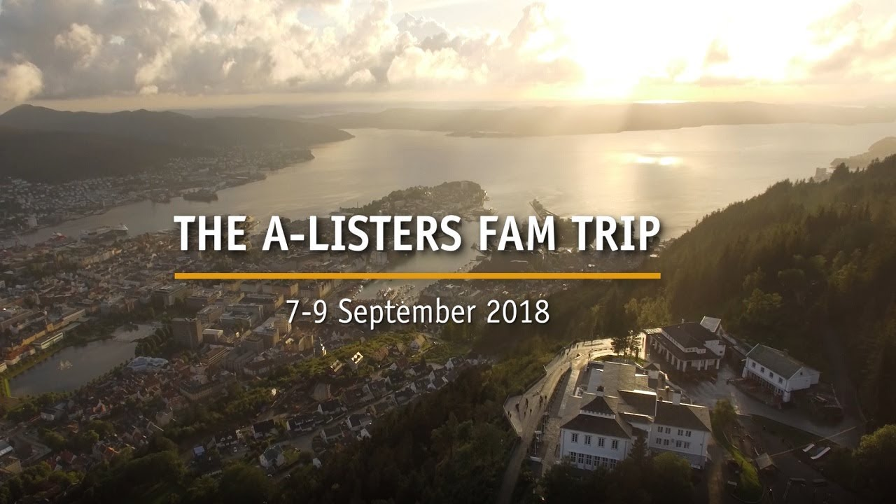 Thumbnail: A Listers FAM trip to Bergen in 2018
