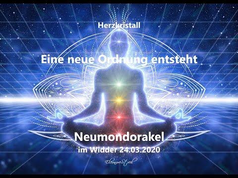 Neumond im Widder am 24.03.2020 - Das Orakel – Eine neue Ordnung entsteht!