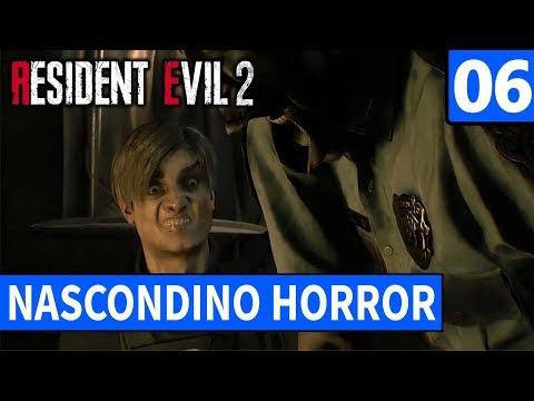 NASCONDINO HORROR ► RESIDENT EVIL 2 Gameplay ITA [#6]