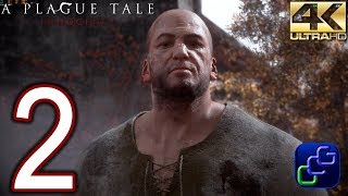 A Plague Tale Innocence PC 4K Walkthrough - Part 2 - Chapter II: The Strangers