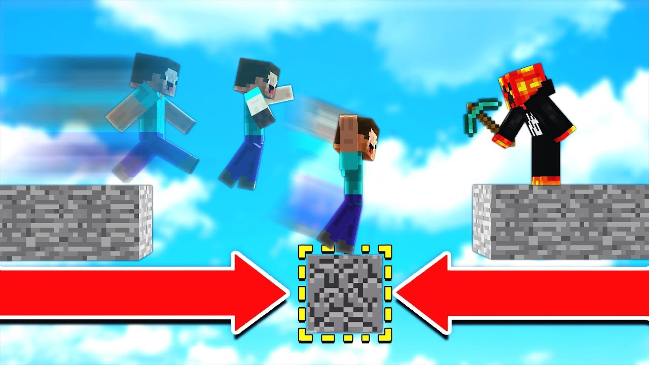 NEVER play MINECRAFT PARKOUR against PRESTONPLAYZ!