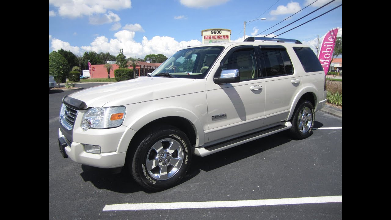 Sold 2006 Ford Explorer Limited 2wd Meticulous Motors Inc Florida For Sale