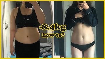 (eng)-8.4kg 감량! 먹고 싶은 거 먹으면서 뺀 행복한 다이어트 후기 how i lost weight