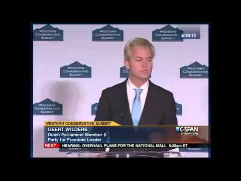 Geert Wilders 'Standing-Ovation' Address to American Conservatives 2/4