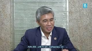 Temu bual Eksklusif Bersama  YB Tengku Dato' Sri Zafrul Tengku Abdul Aziz , Menteri Kewangan