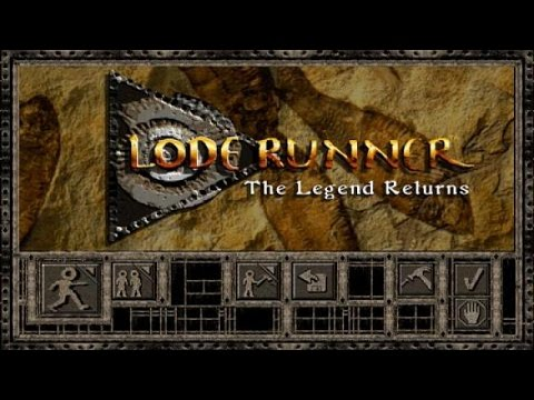 Игра Lode Runner, денди играть онлайн Dendycomua