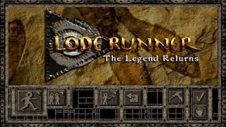 Lode Runner '95 gameplay (PC Game, 1994)