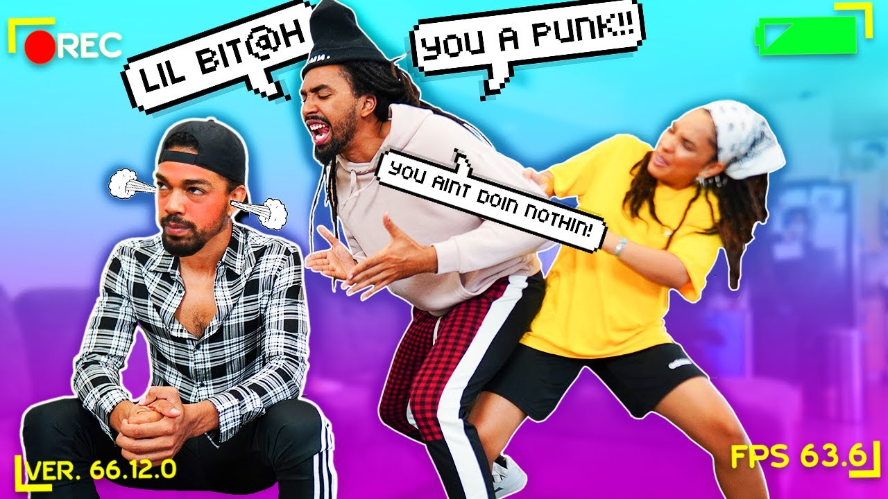 TRYING TO GET MY BROTHER-IN-LAW TO FIGHT ME! PRANK GONE WRONG!