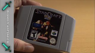 Let's Checkout - Nintendo 64 PAL - Reproduction StarCraft 64 Retro Video Game Video