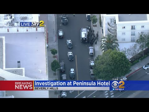All-Clear Declared At Beverly Hills Hotel