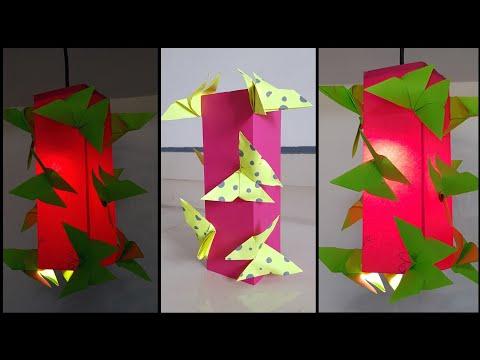 Diy butterfly hanging lantern/lamp | Diy Room decorations ideas