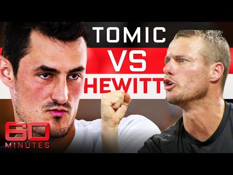 Tomic continues feud with Hewitt with 60 Minutes interview