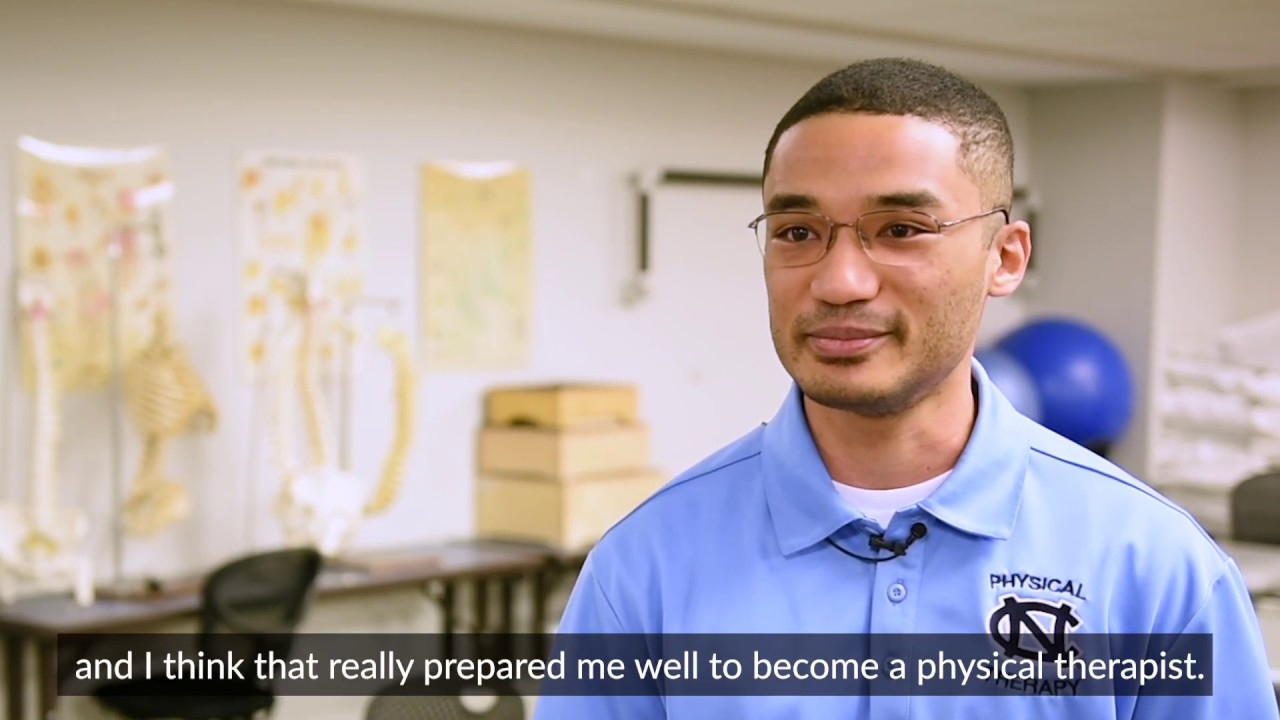 First-Generation Doctor of Physical Therapy Student Chris