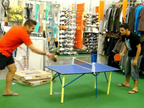 Ping pong rigodon decathlon youtube - Decathlon tavolo ping pong ...