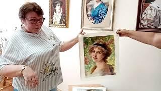 Вышитые картины Ирины Спиридоновой
