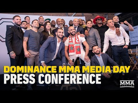 Dominance MMA Media Day Press Conference Video - MMA Fighting
