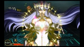 Project X Zone 2: KOS-MOS & FIORA Supers, Combo & Red Mirage Cancels