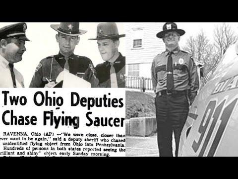 The Portage County Ohio UFO Chase & Police Encounter in 1966 - FindingUFO