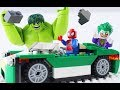 LEGO Super Heroes STOP MOTION LEGO Spiderman And Hulk: Cruiser Build | LEGO Hulk | By Billy Bricks