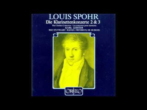 Louis Spohr - Clarinet Concerto No.3 [Karl Leister]