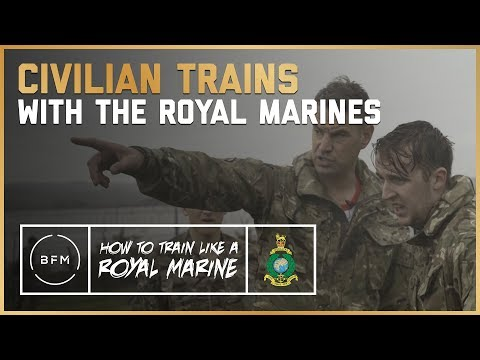 CIVILIAN TRAINS WITH THE ROYAL MARINES | This Is Brutal!