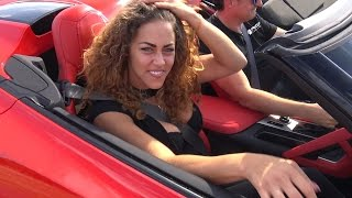 Chick Goes Crazy in a Prior Design Chevrolet Corvette PDR700 Widebody!