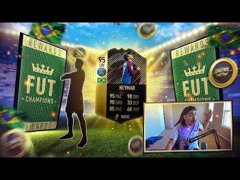95 IF NEYMAR IN A PACK FIFA 18