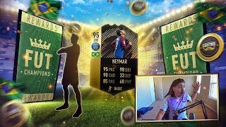95 IF NEYMAR IN A PACK!! FIFA 18